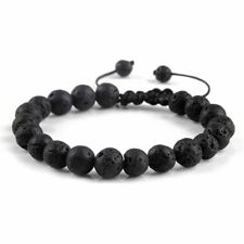 Wrist Beads Bead Bangle Gift Women's Lucky Hot Unisex Rock Yoga Lava Bracelet