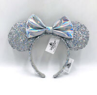 Silver 2020 Minnie Ears Mickey Cinderella  Magic Mirror Disney Parks Headband