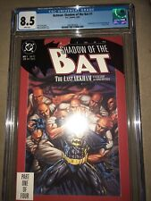 Batman Shadow of the bat #1 CGC 8.5