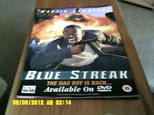 Blue Streak (Martin Lawrence) Movie Poster a2