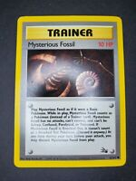 Pokemon - Mysterious Fossil 62/62 - Fossil - Common - NM