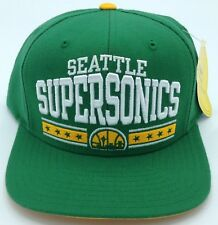 NBA Seattle Supersonics Dada Snapback Sombrero Gorro Estilo #Nzq98 Nuevo