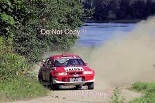 Freddy Loix Mitsubishi Lancer Evo 6.5 1000 Lakes Rally 2001 Photograph 2