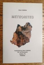 Meteorites by Alain Carion (Softcover, 1994)