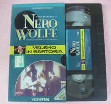 VHS film VELENO IN SARTOTIA Tino Buazzelli Paolo Ferrari NERO WOLFE (F173)no*dvd