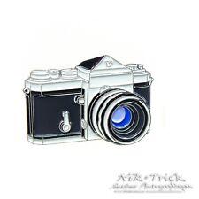 Nikon F ~ Enamel Pin Badge ~ Top Quality, New to the UK
