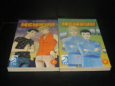 MENKUI! Vol.1-2 Books Graphic Novel Manga Comic Yaoi Lot