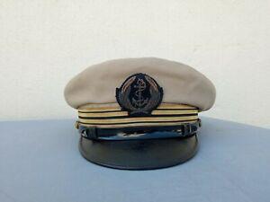 Casquette ancienne marine Française capitaine de vaisseau