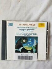 Szymanowski Harnasie Mandragora Etude for Orchestra Polish Philharm Stryja CD