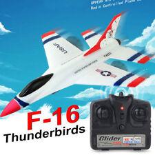 FX-823 2.4G 2CH RC Airplane F16 EPP Remote Control Mini Glider White