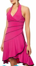 Sexy MISS DONNA SALCA Dance Party Dress Neck mini abito 34/36/38 Nero Rosa