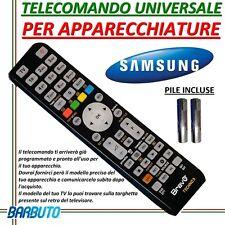 TELECOMANDO UNIVERSALE PER APPARECCHI MARCA SAMSUNG MODELLO UE32H4000