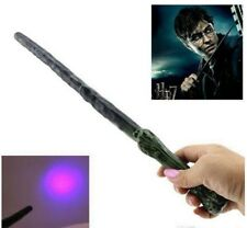 Harry Potter Magic Wand Light Up And Sound Wooden Look Magician Wizard