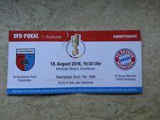 Sammler Used Ticket SV Drochtersen/Assel vs FC Bayern München DFB-POKAL