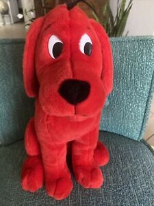 "Madame Alexander Clifford The Red Dog Quality Stuffed Plush 16"" Tall 2000 EUC"