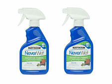 Pack of 2 Rust-Oleum 278146 NeverWet 11-Ounce Outdoor Fabric Spray, Clear