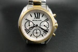 New Old Stock MICHAEL KORS Mini Bradshaw MK5912 Chronograph Quartz Women Watch