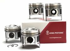 VAUXHALL OPEL 1.7 DTI 16V SET OF 4 PISTONS Y 17 DT,DTL 0.50MM WITH RIKEN RINGS