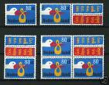Nederland alle combinaties  uit  postzegelboekje 57  postfris/MNH