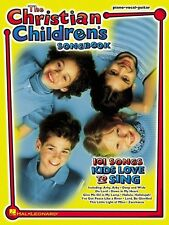 The Christian Children's Songbook Sheet Music Piano Vocal Guitar Songb 000310472