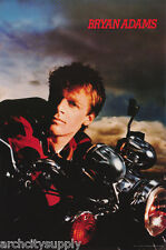 Poster : Music : Bryan Adams - On Motorcycle - Free Shipping ! #Nma87 Lw11 G