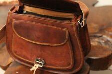 1fc8e612c074 Large Hobo Purse Women Vintage Brown Leather Messenger Cross Body Bag  Handmade