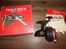 Vintage DAM Quick 550N Spinning Reel- West Germany w/ Box, Parts & Papers