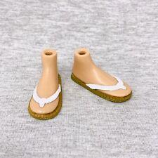 Bratz Sun Kissed Summer Cloe Replacement Shoes Flip Flops Sandals Tan