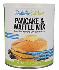 Diabetic Kitchen Pancake & Waffle Mix ● Sugar-Free, Gluten-Free, High-Fiber, No