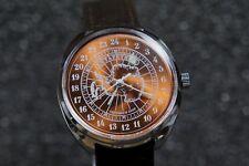 Mechanical watch RAKETA ANTARCTICA 24-HOUR. New. Metallic Bronze dial. 39mm case