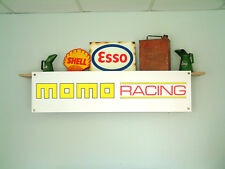 MOMO CORSE Workshop Garage banner pubblicitari al dettaglio