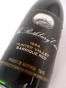 1984 ROTHBURY ESTATE Hunter Valley Barrique Red Isle of Wine