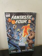 Fantastic Four Vol. 4 Marvel Prem Ed Hard Cover Gn Death Johnny Storm Sealed ~