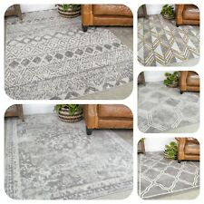 Large Grey Rugs for Living Room Popular Silver Traditional Area Rugs Hallway Mat