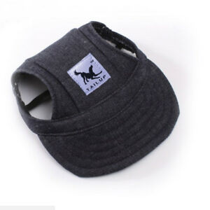 Pet Dog Hat Baseball Cap Windproof Travel Sports Sun Hats for Puppy Large Dogs