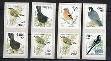 Ireland -Eire,4 strips of 2,birds,phosphor frame-HB D 170,181,D280 a,D 282 a,