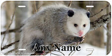 Opossum Aluminum Any Name Personalized Novelty Car Auto License Plate