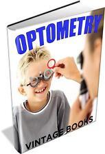 Optometry 29 Vintage Books - Optometrist,Opician,Eyes,Vision,Optics,Optical Aids