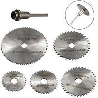 6Pcs/Set Pro Rotary cutter Mini HSS Circular Saw Disc Blades Blade cutter kits
