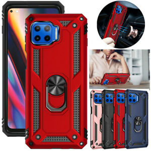 For Motorola Moto One 5G, G 5G Plus Case Ring Kickstand Shockproof Rugged Cover