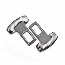 4pcs Car Seat Belt Buckle Extender Extender Clip Alarm Plug Universal Fits Toyota