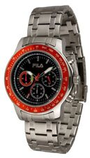 Fila Watches Cortina Men's Chronograph Quartz Ø 46mm Stainless Steel Band