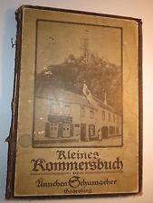 Kleines Kommersbuch von Aennchen Schumacher Godesberg 36. Auflage mit Noten