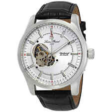 Lucien Piccard Morgana Open Heart Mechanical Hand Wind Men's Watch LP-40006M-02S