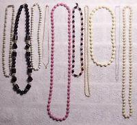 10x Catena Collana di Perle IN Metallo Bigiotteria Gioiello Ad Fai da Te