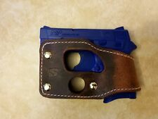 Smith and Wesson M&P Bodyguard 380 (NO Laser) Brown Leather Shoot Thru Holster