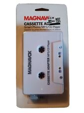 Magnavox Cassette Adapter Smart Phone Mp3 Cd Player New Free Shipping