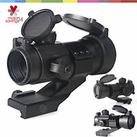 Tactical 4 MOA Red Green Dot Sight Scope Hunting Rifle Scope Rail PEPR Mount
