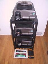 3 - Hasselblad PCP-80 Projector Set, 150mm Lenses / Dissolve Unit / Radio Remote