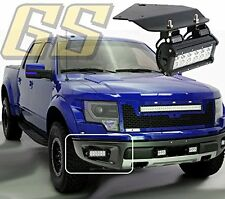 1Pair Fog Light Bracket Use With Ford F150 SVT Raptor 10-14 3'' for LED Light FH